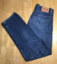 LEVIS 505 Mens Blue Jeans SIZE 32 x 32 Regular Fit Straight Leg Soft Denim