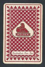#850.153 vintage swap card -FAIR/EXC- Advert. Holden, Australia's Own Car