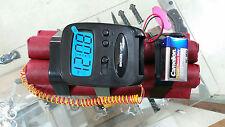 Dynamite Clock Movie or Scenario Clock Bomb Prop airsoft paintball
