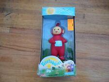 """Vintage NIB Playskool Teletubbies 6"""" Plastic Figure """" PO """" New Toys R US 1998"""