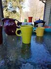 LATTE MUG CUP lemongrass FIESTA WARE new