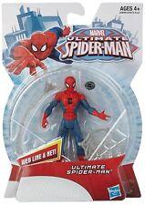 Hasbro Ultimate Spider-Man 4 inch action figure,Web line & met, Age 4+
