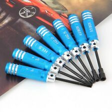 7Pcs Tools Kit Hex Screw Driver Set Kit For Transmitter RC Helicopter Plane Car