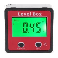Inclinometer Spirit Level Protractor Angle Gauge Meter Bevel Level Box Digital