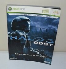 USED Halo 3 ODST: Prima Official Game Guide XBOX 360 BUNGIE