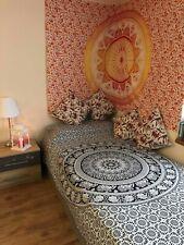 Elefant S&W Mandala Sofa Überwurf Wandteppich Baumwolle Yoga Deko Tuch 137X213cm