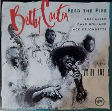 Betty Carter - Feed the Fire (CD, 1994, Verve) JAZZ - VG+ 9/10