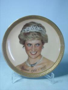 Franklin Mint DIANA Princess of Wales Plate + COA Memorial Fund
