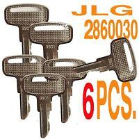 JLG 2860030 Keys - 9901 key , 6 PCS. , E2/E600/33RTS Scissor - Boom