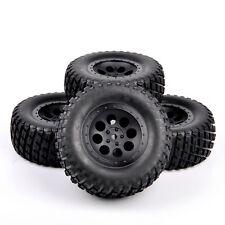 RC 1:10 4Pcs Short Course Ruber Tire Wheel Rim For TRAXXAS SLASH Truck 12mm Hex