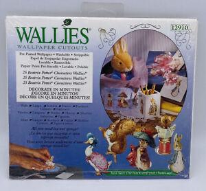 Wallies Beatrix Potter Peter Bunny Rabbit Characters Wallpaper Cutouts New