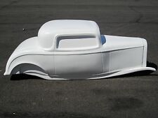 1932 Ford Coupe hot rod stroller pedal car fiberglass body 1/4 Scale 1934 1933