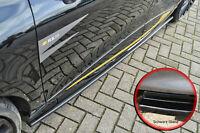 CUP Seitenschweller Schweller ABS Renault Clio 4 RS in schwarz glanz