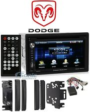 Power Acoustik 6.5� Dvd/Cd Player In-Dash Receiver For 2009-2011 Dodge Ram 1500