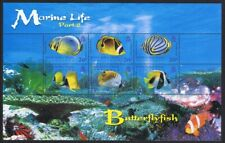 BIOT Butterflyfish Marine Life 2nd series MS MNH SG#MS354