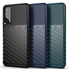 For Huawei Y7a Y7p Y6p Case Soft Rugged Shockproof TPU Protective Phone Cover