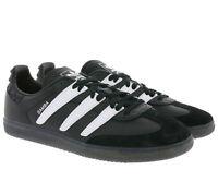adidas Originals Samba OG Sneaker Herren Retro-Turnschuhe Sportschuhe Schwarz