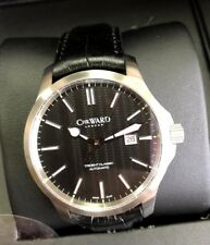 Christopher Ward C65 Trident Classic Original CHR. WARD logo black leather new