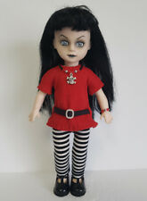 Living Dead Doll Clothes Goth Tunic Leggings & Skull Jewelry Fashion NO DOLL d4e