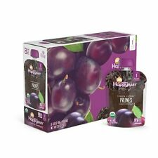 Happy Baby Organic Clearly Crafted Stage 1 Baby Food Prunes 16 3.5 oz Packs