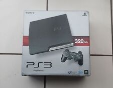 PS3 CONSOLE 320GB CHARCOAL BLACK BOXED