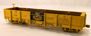 On3 CUSTOM BUILT READY TO RUN VICTOR GOLD MINING Co LOW SIDE WOOD GON # 350