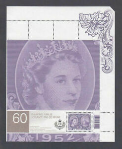 S/S from UNCUT sheet #2540ai = UR (pos.4) =  QUEEN ELIZABETH II  Canada 2012