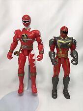 """POWER RANGERS Dino Thunder Red Ranger Action Figure 6"""" 2003 Bandai PLUS BONUS"""