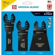 IMPERIAL BLADES VARIETY PACK WOOD & NAILS BLADES IBOAV1-3