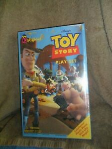 1995 Hasbro Toy Story Colorforms Playset Factory Sealed