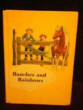 1959 Schoolbook Primer: Ranches and Rainbows, Odille Ousley, Ginn & Co,