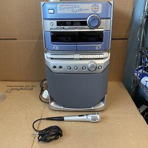 Goodmans XB10-CDG Karaoke Machine CD & Twin Cassettes