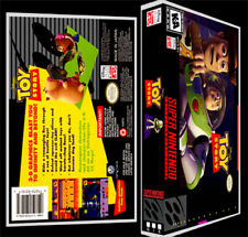 Toy Story  - SNES Reproduction Art Case/Box No Game.