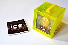 ICE WATCH Neon Yellow Mini Unisex in Original Box Water Resistant 10ATM BNWT