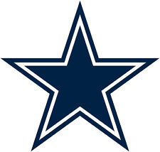"""Dallas Cowboys Decal Indoor - Outdoor - Car-  Truck - Window 4.0"""" x 4.2"""""""