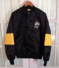 The Jacket Factory Men's VTG Black Yellow Purdue Boilermakers College Jacket USA