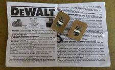 Dewalt Belt Hook & Screw (2 pcs in polybag) for DCF610,DCD710, DCD775