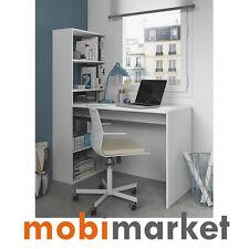 Mesa y Estanteria reversible en blanco alpes modelo GAROS