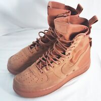 Nike SF Air Force 1 High Boots Dusty Peach 864024-204 Men's Size 8.5 2017