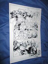 GREEN LANTERN #32 Original Art Page #19 ~Billy Tan/Rob Hunter JLA/MOVIE Comic Art