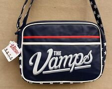 CLAIRE'S 'The Vamps' Navy Red White Shoulder Bag Adjustable Strap MRRP £22.00