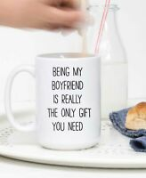 Being My Boyfriend Coffee Mug Funny Coffee Mug For Boyfriend Cute Mug
