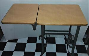 Vintage Mid-Century Toledo Industrial Typewriter Stand/Table/Desk,  Excellent!