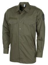Austria Army-Bundesheer-olive drab shirt - Size 37/SMALL -NEW-no bag - LOT OF 2