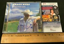 TRACY BYRD HAND SIGNED AUTOGRPAHED GREATEST HITS CD BOOKLET/CD W/CASE JSA/COA