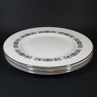 Royal Tuscan MONARCH Dinner Plates Set of 4 Bone China Plate England