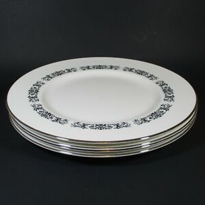 Royal Tuscan MONARCH Dinner Plates Set of 4 Bone China Plate England