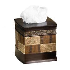 Popular Bath Zambia Copper Collection - Bathroom Tissue Box Cover