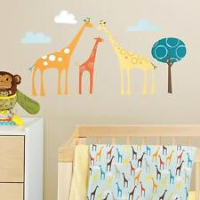 60 Skip Hop Decals Wall Stickers Giraffe Safari Baby Nursery Decoration Bedroom