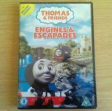 NEW SEALED - THOMAS THE TANK ENGINE & ESCAPADES - Childrens TV DVD - Region 2